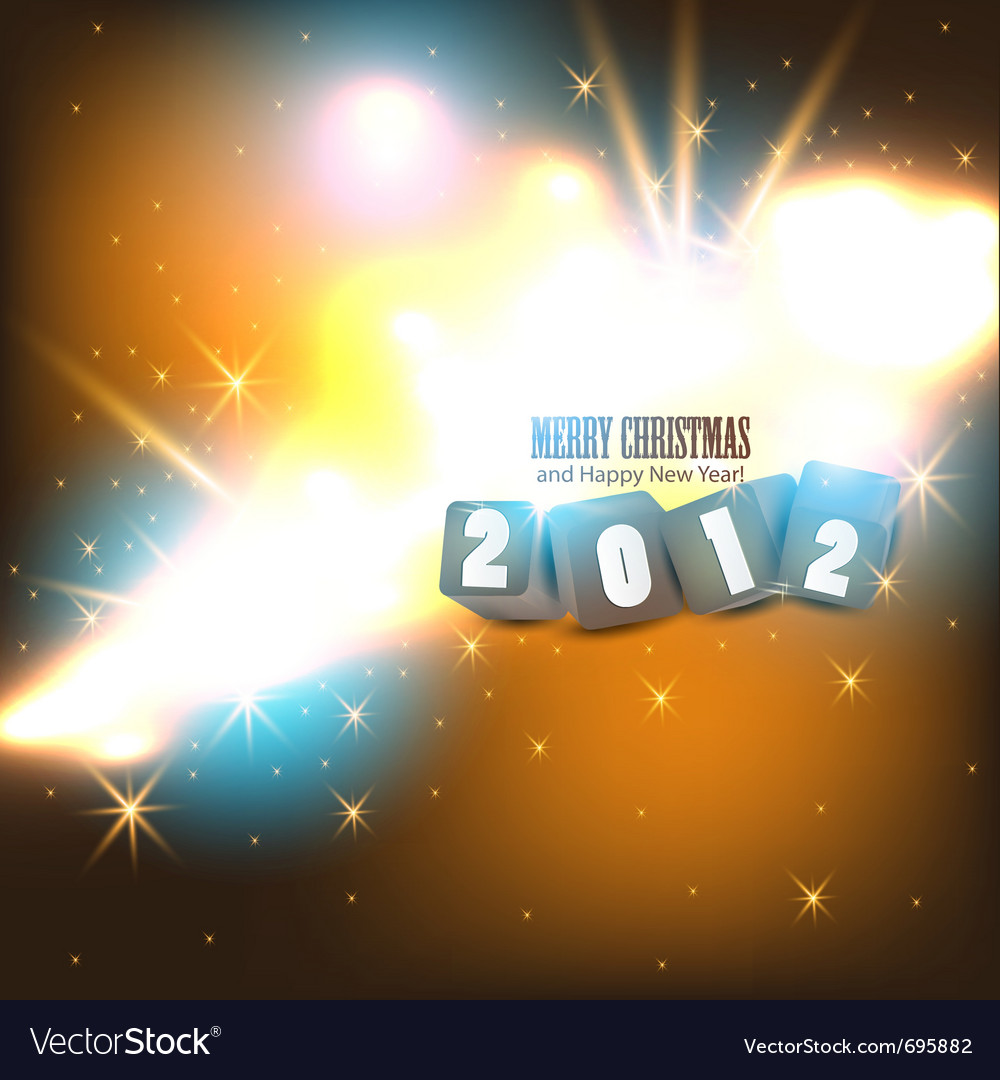 2012 glittering background vector | Price: 1 Credit (USD $1)