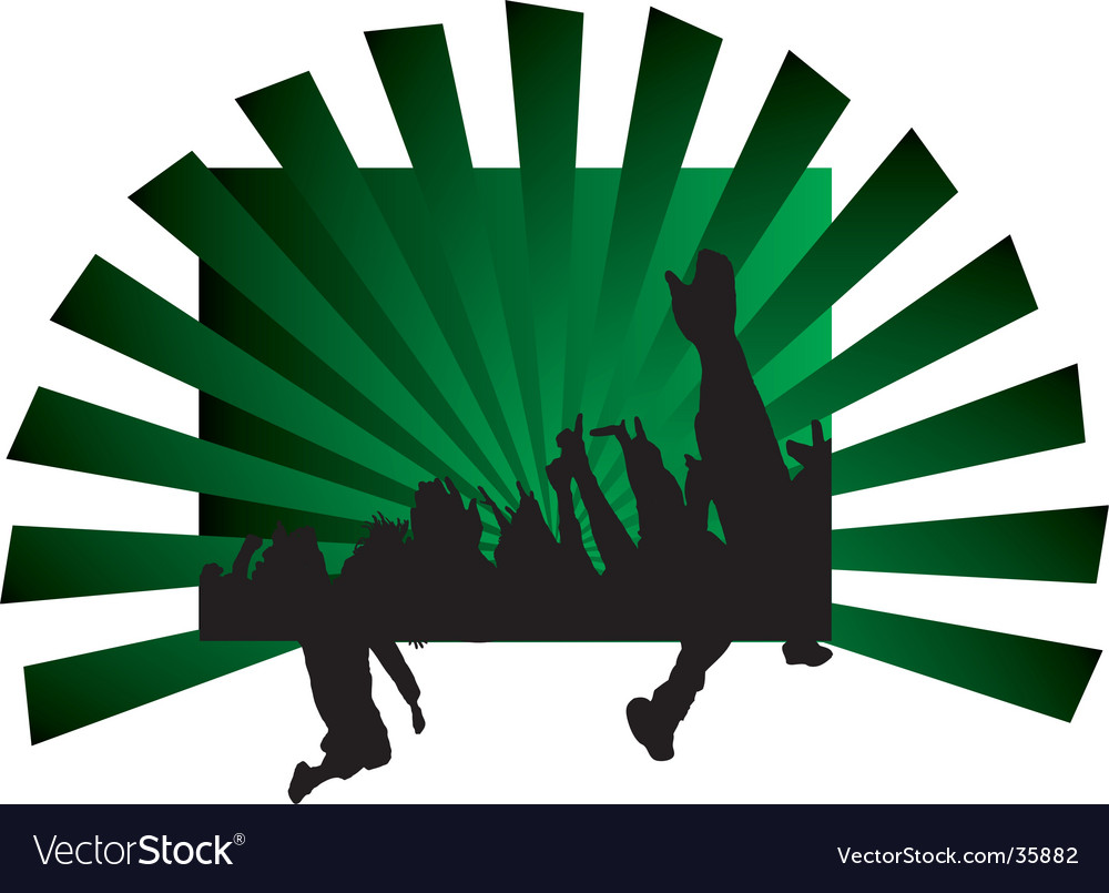 Concert hands vector | Price: 1 Credit (USD $1)