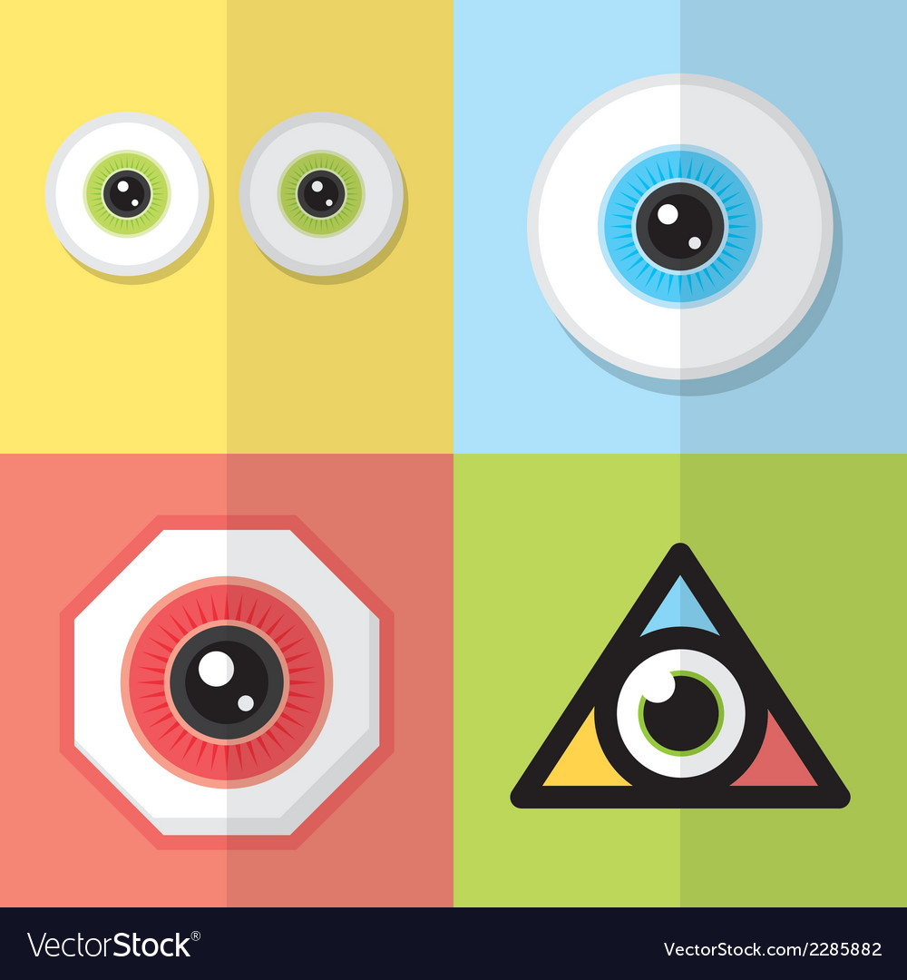 Eye design vector | Price: 1 Credit (USD $1)