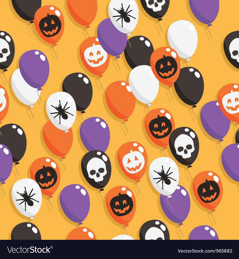 Halloween balloons vector | Price: 1 Credit (USD $1)