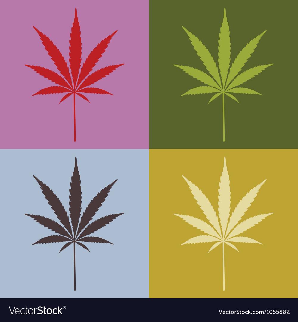 Marijuana leaves vector | Price: 1 Credit (USD $1)
