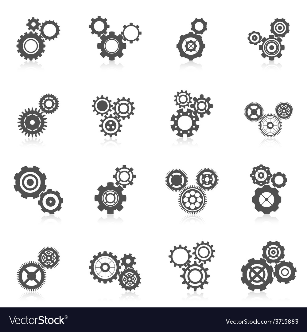 Cog wheel icon vector | Price: 1 Credit (USD $1)