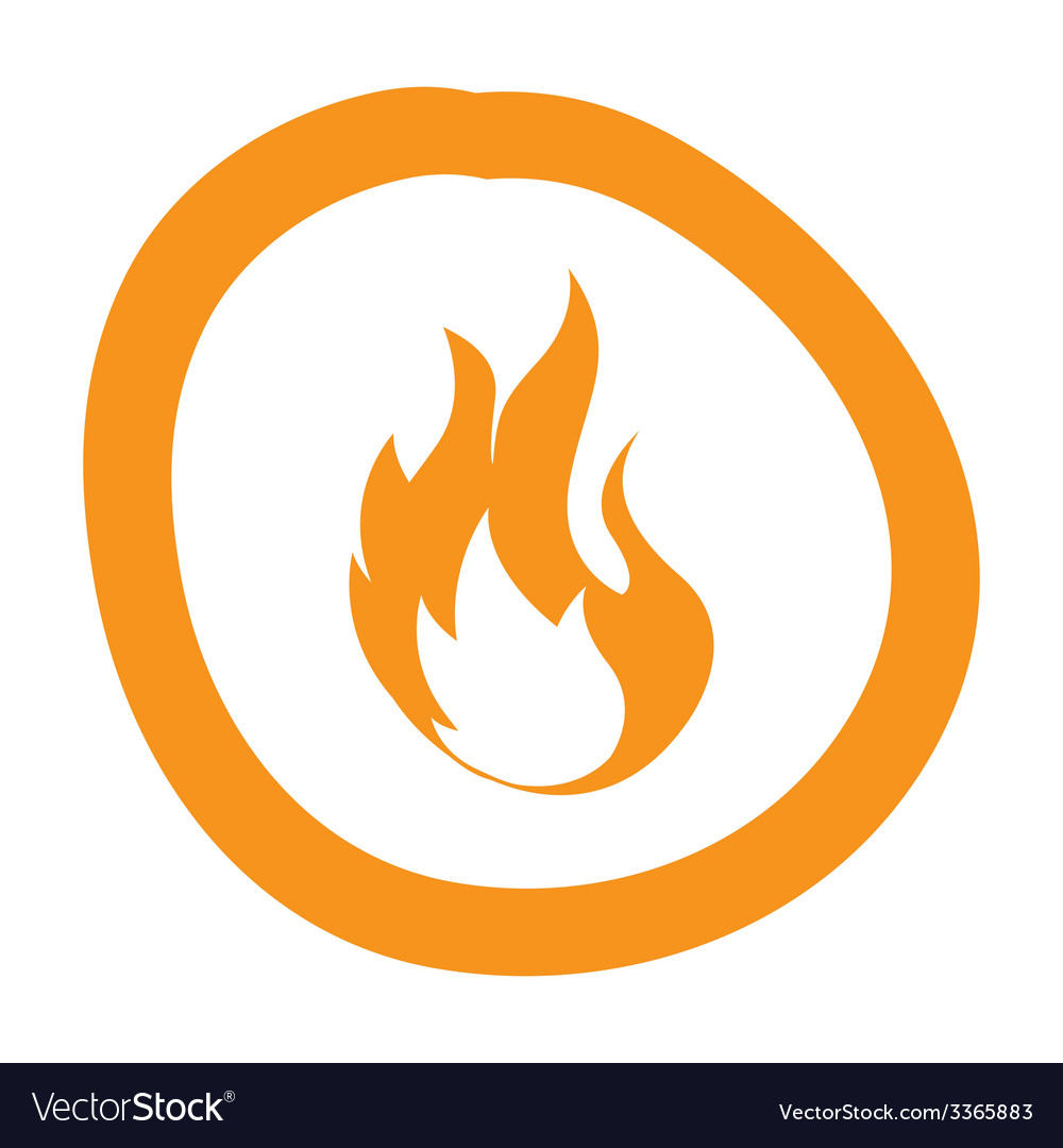 Flame design vector | Price: 1 Credit (USD $1)