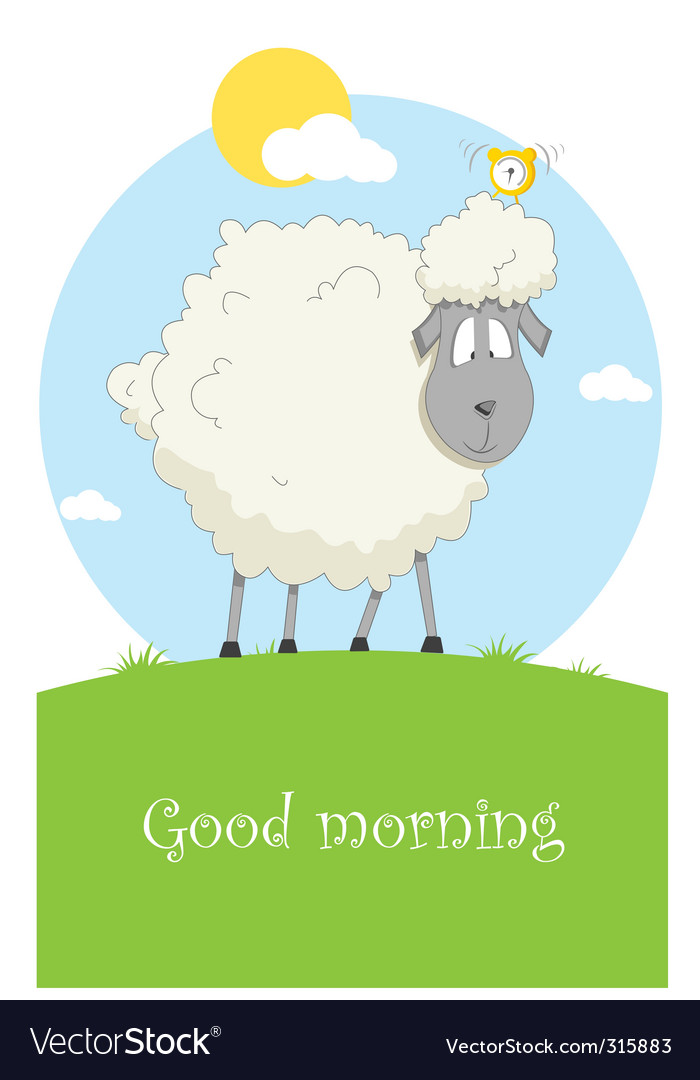 Nice sheep vector | Price: 3 Credit (USD $3)