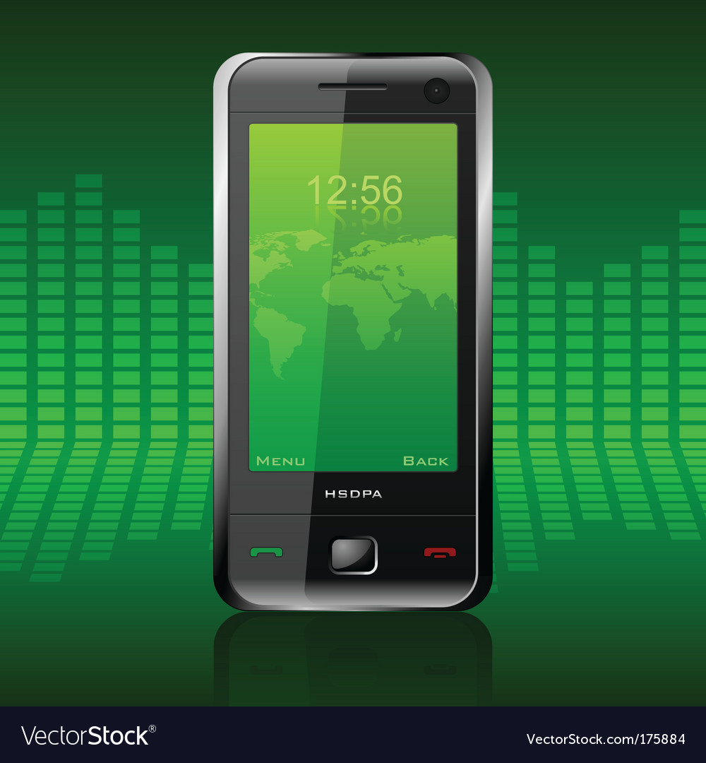 Modern communicator vector | Price: 1 Credit (USD $1)