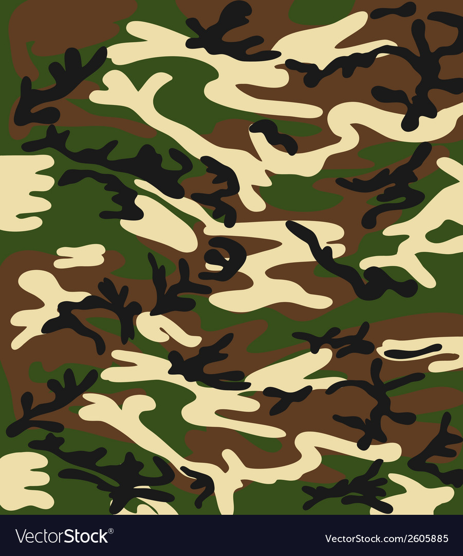 Camouflage background vector | Price: 1 Credit (USD $1)