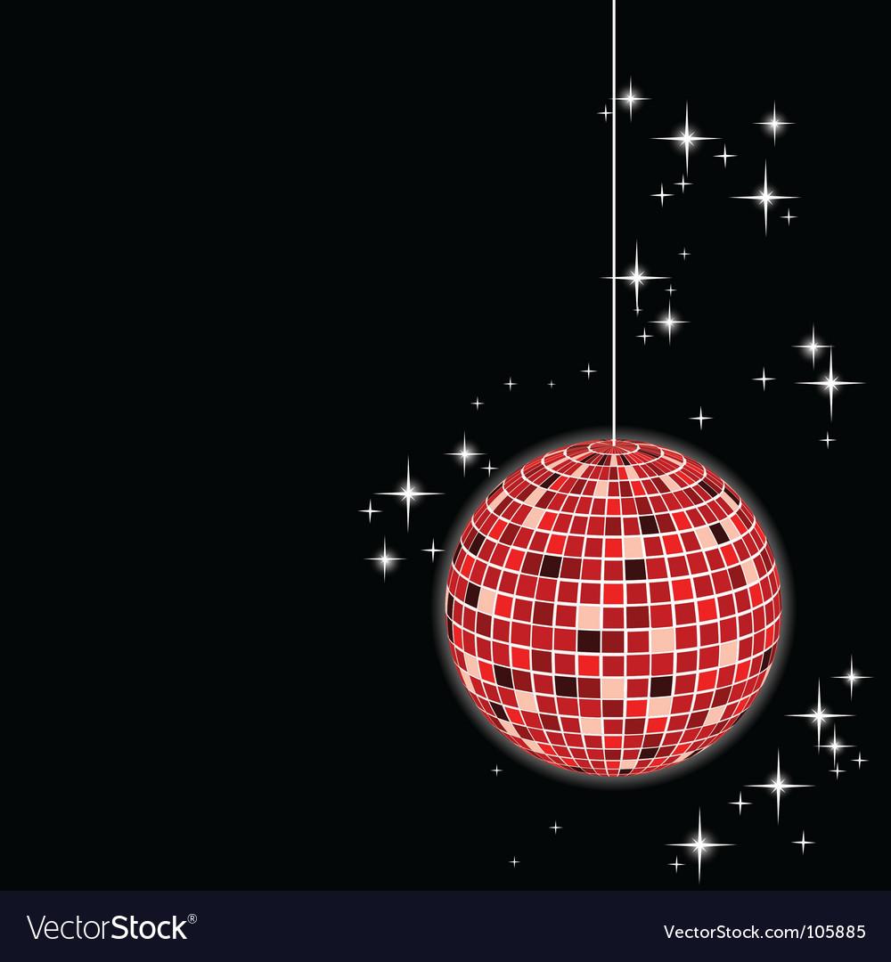 Disco sphere vector | Price: 1 Credit (USD $1)