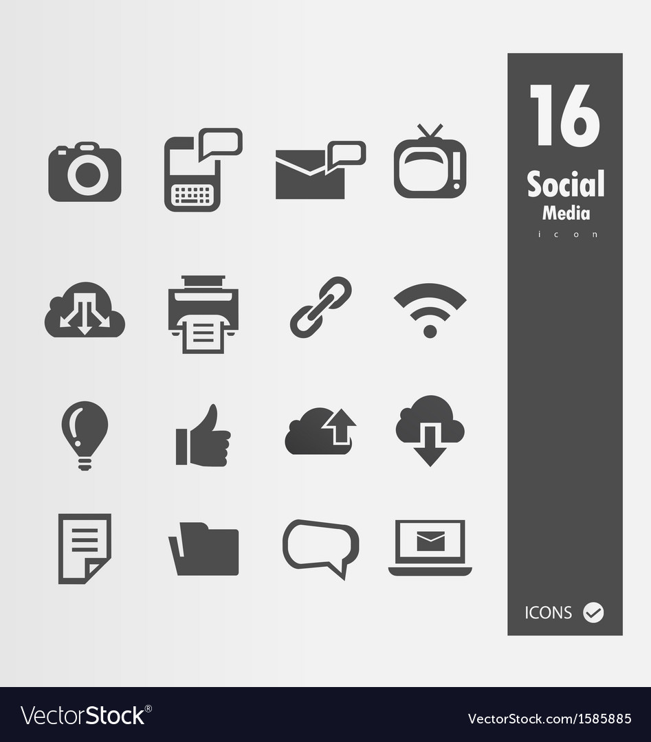 Minimal styled icons vector | Price: 1 Credit (USD $1)