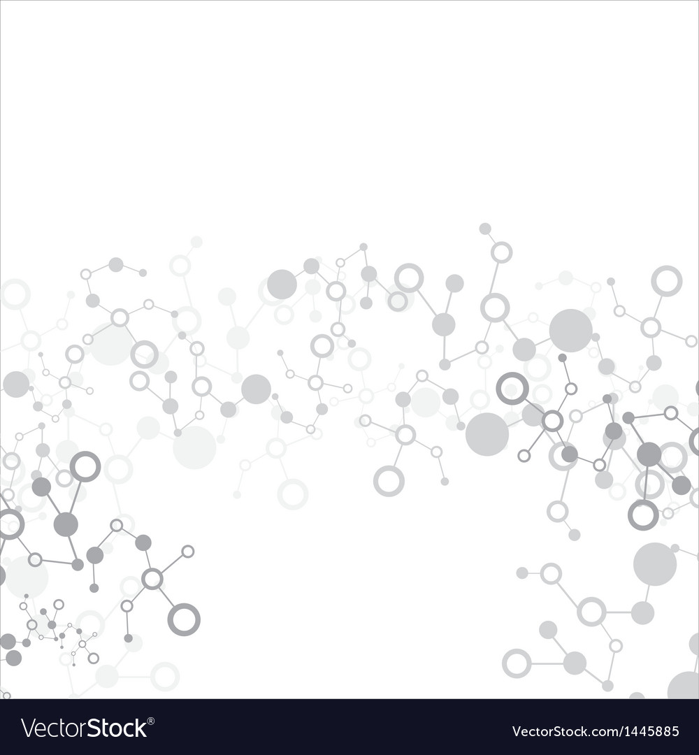 Molecule abstract background vector | Price: 1 Credit (USD $1)