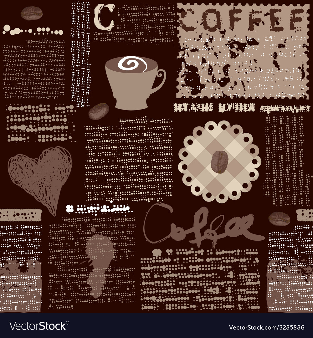 Coffee background i vector | Price: 1 Credit (USD $1)