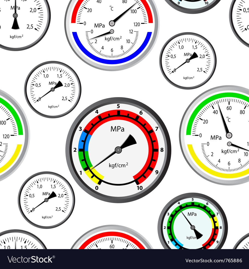 Gas manometer background vector | Price: 1 Credit (USD $1)