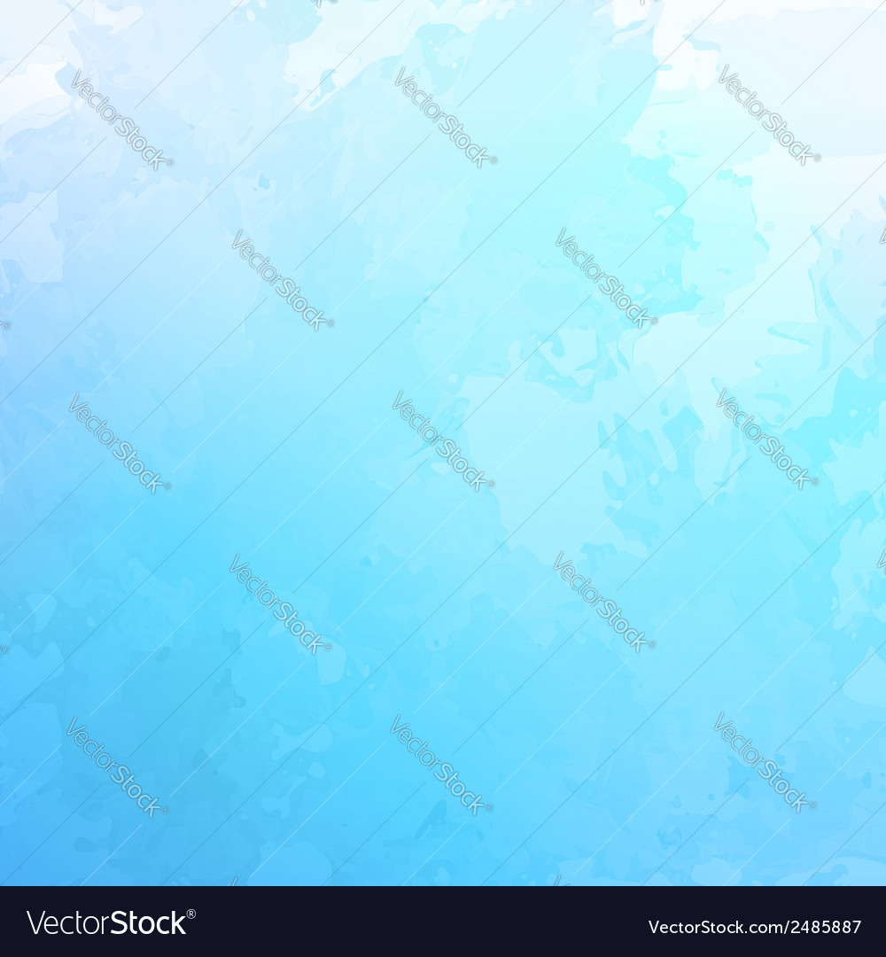 Abstract blue watercolor background vector | Price: 1 Credit (USD $1)