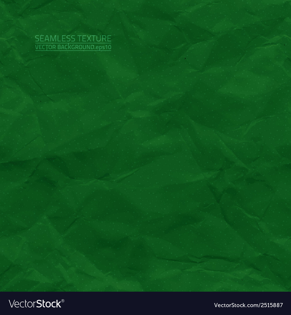 Creased green paper seamless texture vector | Price: 1 Credit (USD $1)