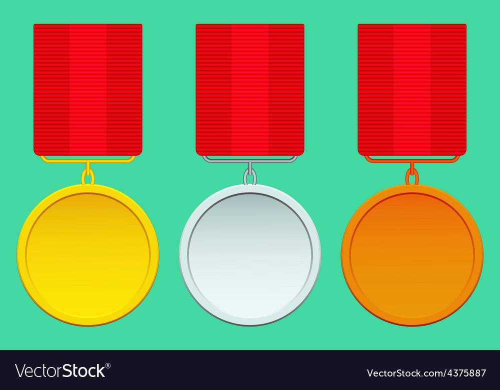Medal set vector | Price: 1 Credit (USD $1)
