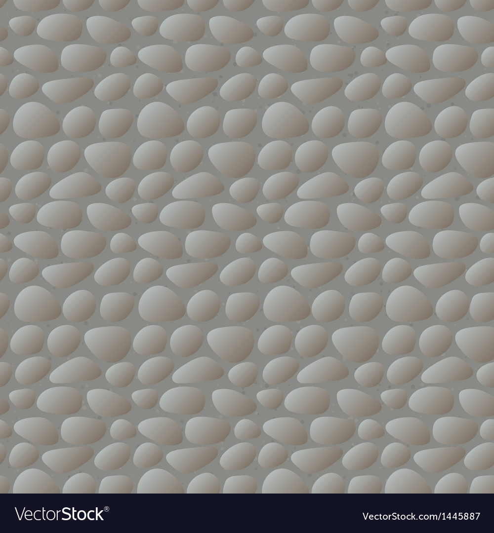 Stone wall seamless pattern vector | Price: 1 Credit (USD $1)