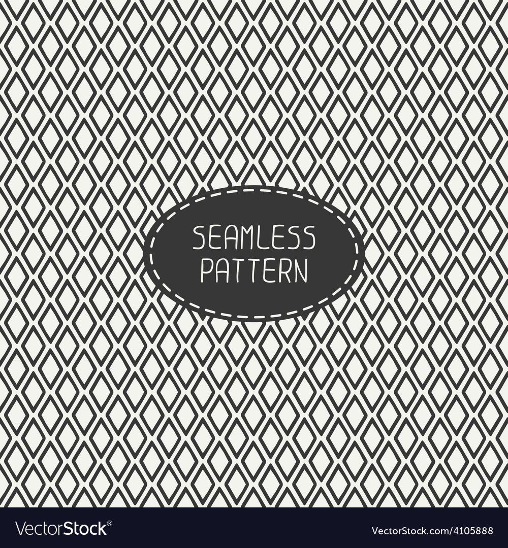Geometric line seamless pattern with rhombus vector   Price: 1 Credit (USD $1)