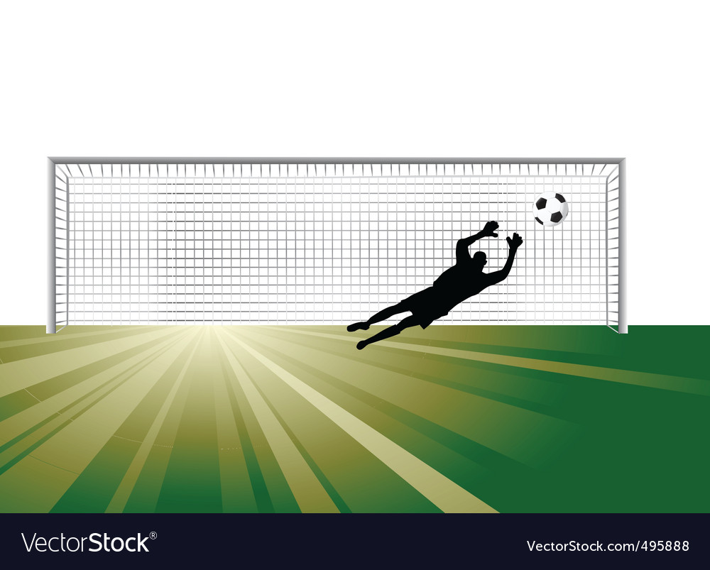Goalkeeper vector | Price: 1 Credit (USD $1)