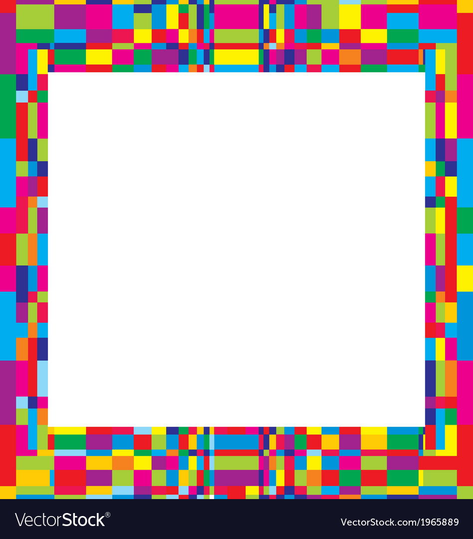 Colorfull frame design vector   Price: 1 Credit (USD $1)