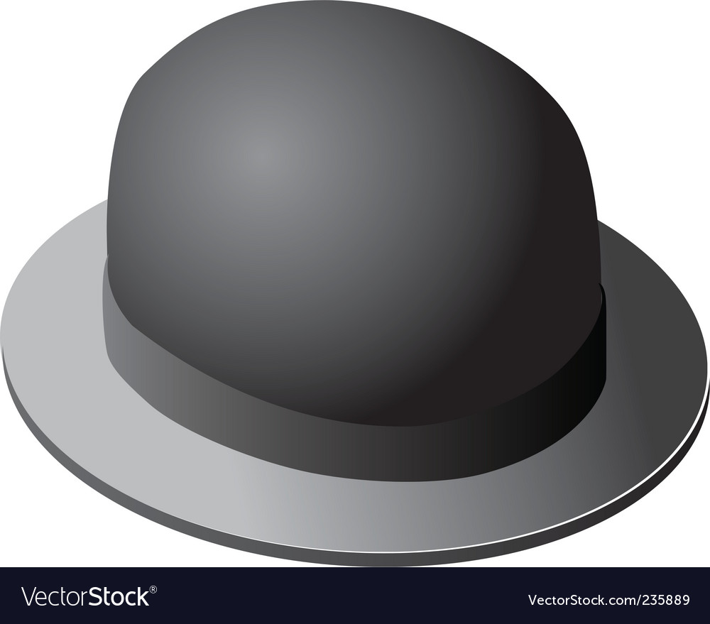 Derby hat vector | Price: 1 Credit (USD $1)