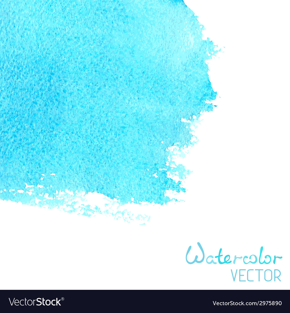 Hand-drawn watercolor background vector | Price: 1 Credit (USD $1)