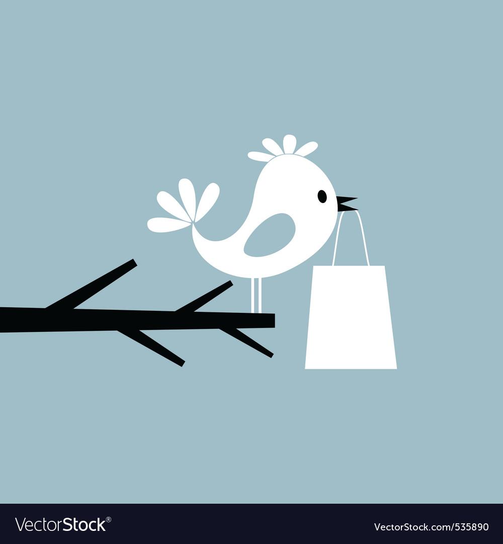 Twitter bird vector | Price: 1 Credit (USD $1)