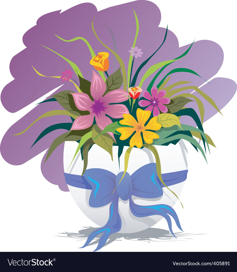 Easter flower vector | Price: 1 Credit (USD $1)