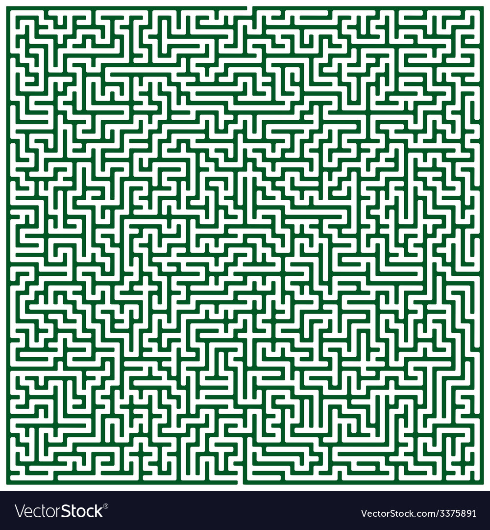 Maze pattern vector | Price: 1 Credit (USD $1)