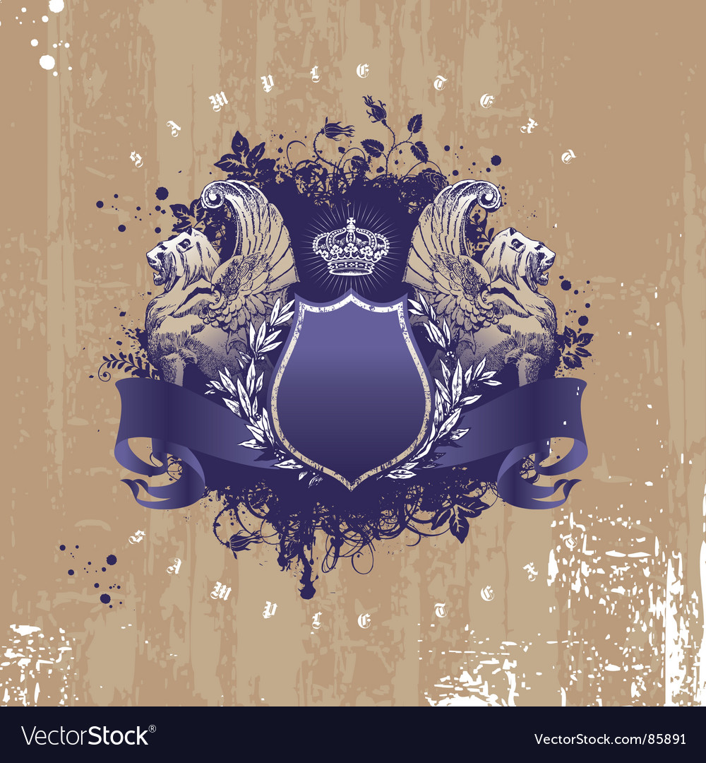 Winged lions vector   Price: 1 Credit (USD $1)