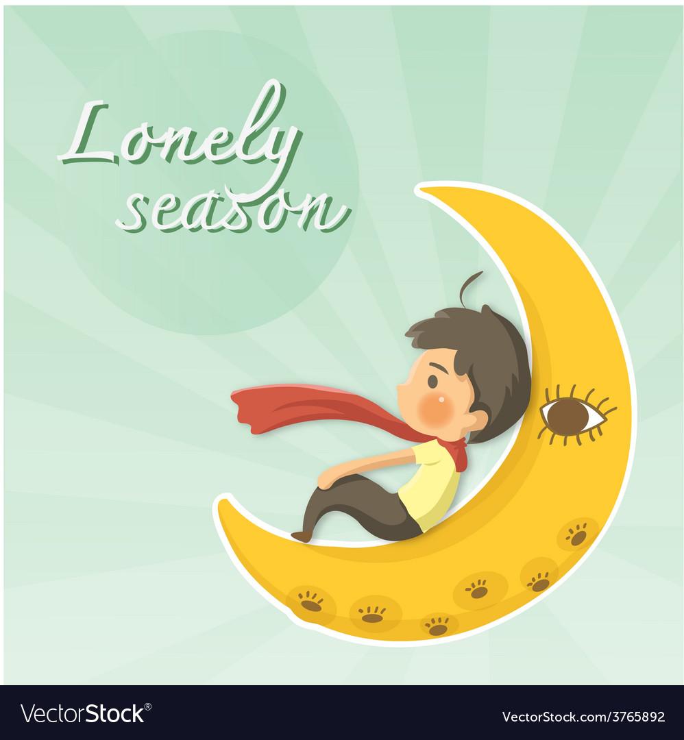 Lonely season vector | Price: 1 Credit (USD $1)