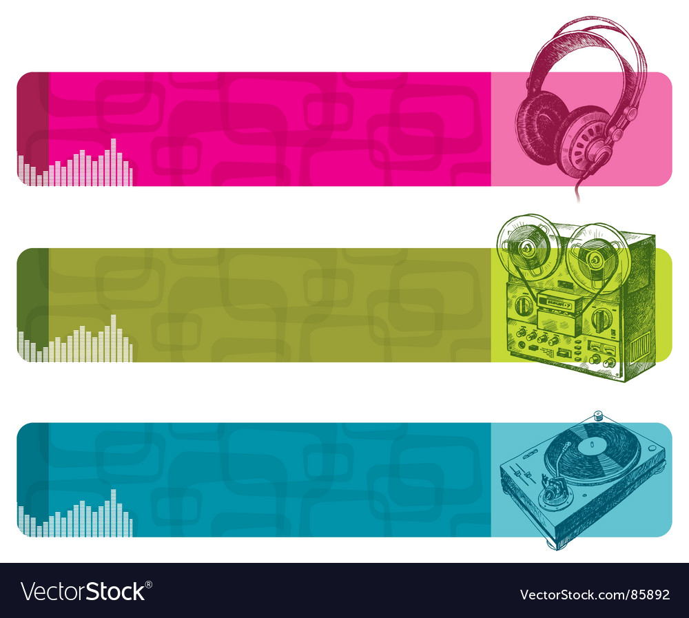 Musical equipment vector | Price: 1 Credit (USD $1)