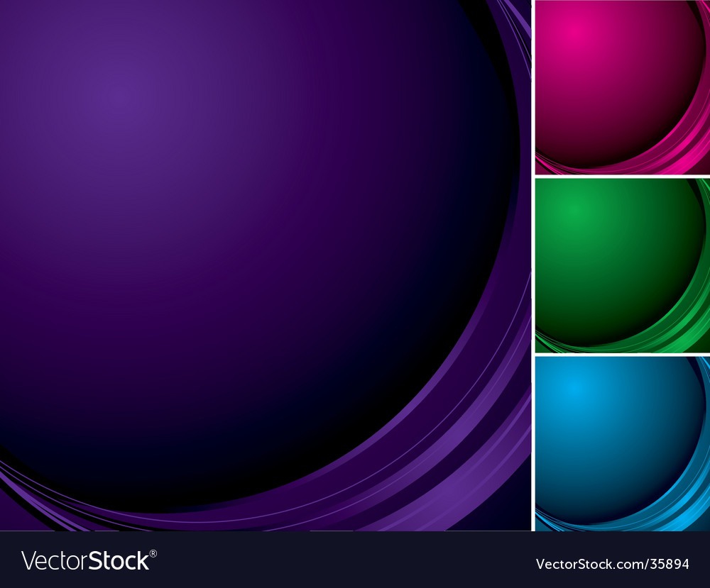 Abstract curve vector | Price: 1 Credit (USD $1)