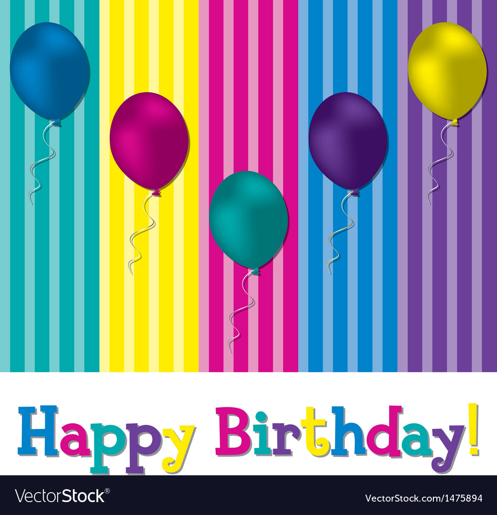 Happy birthday vector   Price: 1 Credit (USD $1)