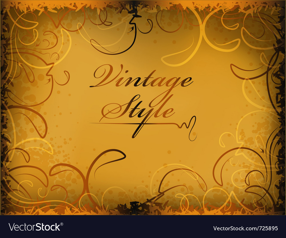 Retro styled background vector | Price: 1 Credit (USD $1)