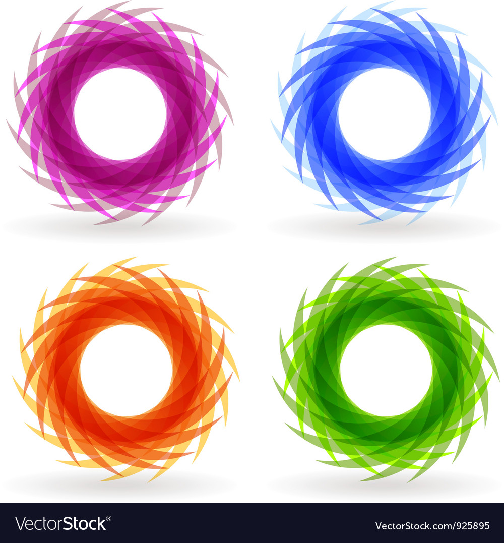 Swirl set vector | Price: 1 Credit (USD $1)