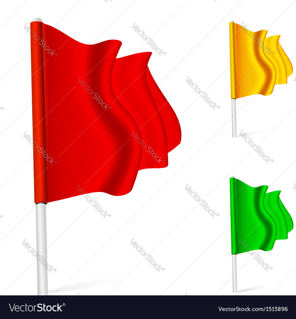 Flag fluttering in the wind vector | Price: 1 Credit (USD $1)