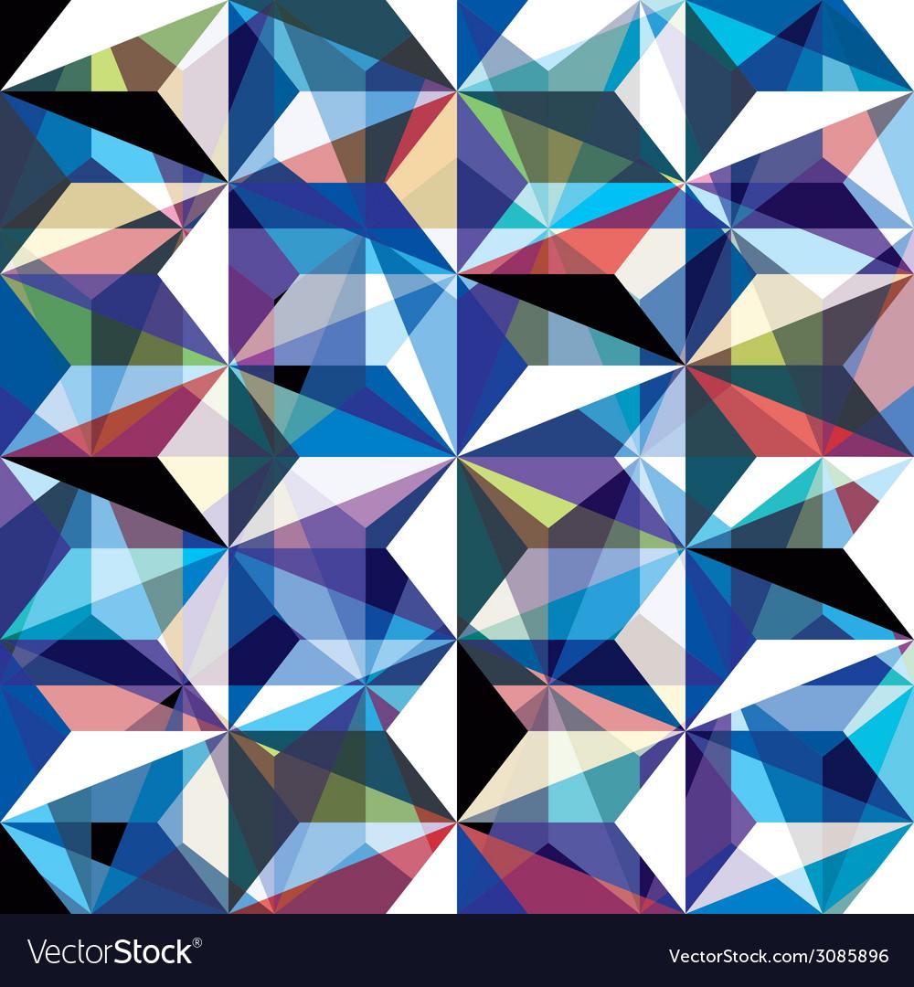 Gemstone texture seamless pattern background vector | Price: 1 Credit (USD $1)