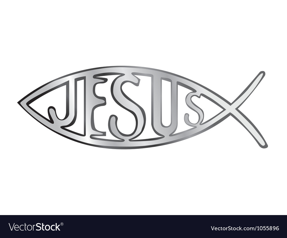 Jesus fish vector | Price: 1 Credit (USD $1)