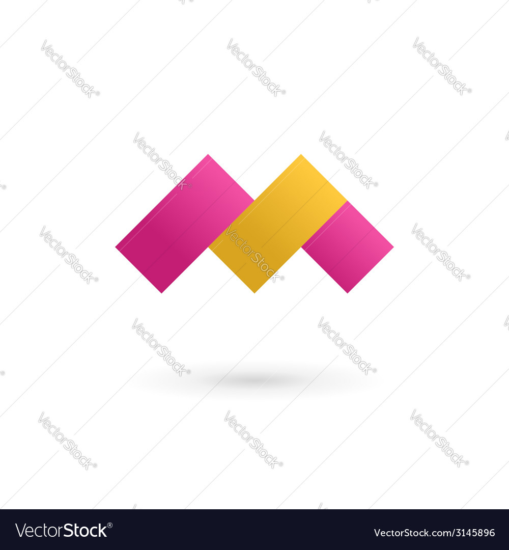 Letter m logo icon design template elements vector   Price: 1 Credit (USD $1)
