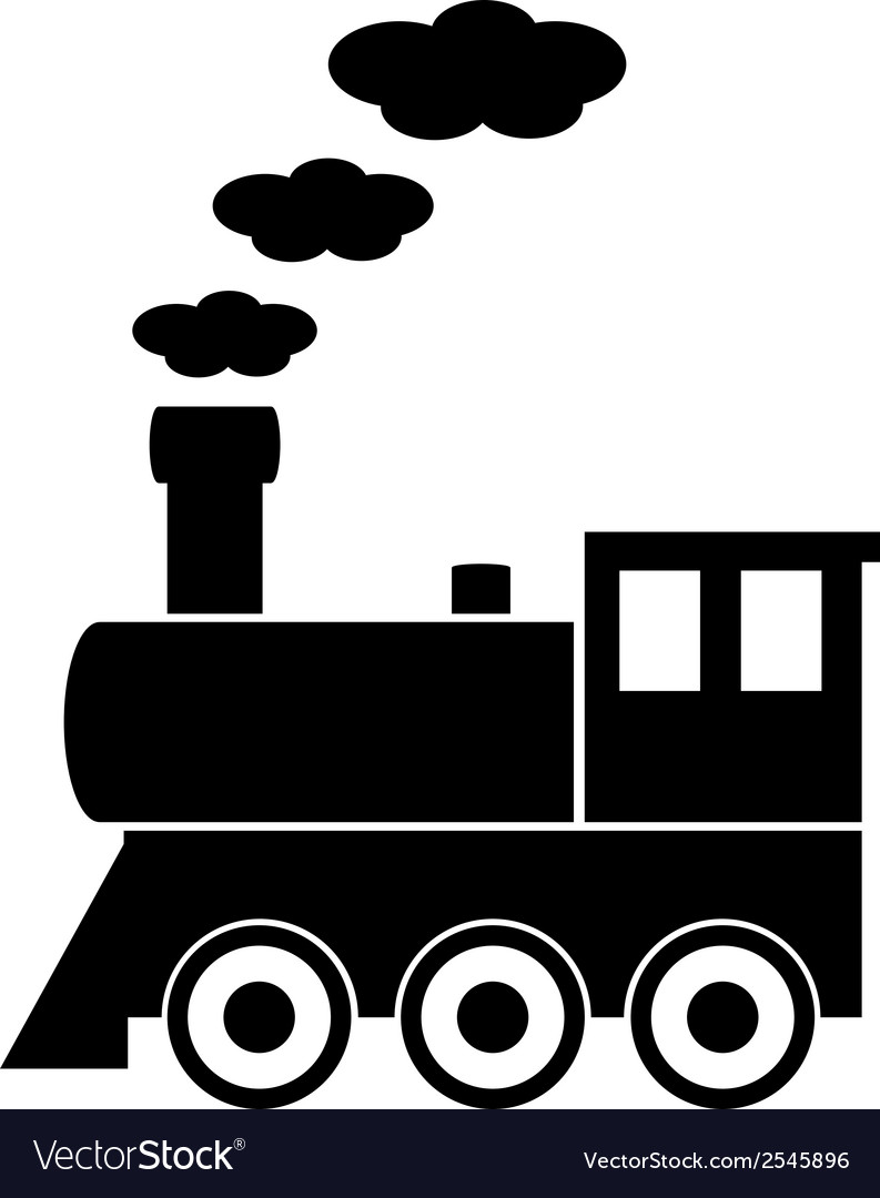 Locomotive icon vector | Price: 1 Credit (USD $1)