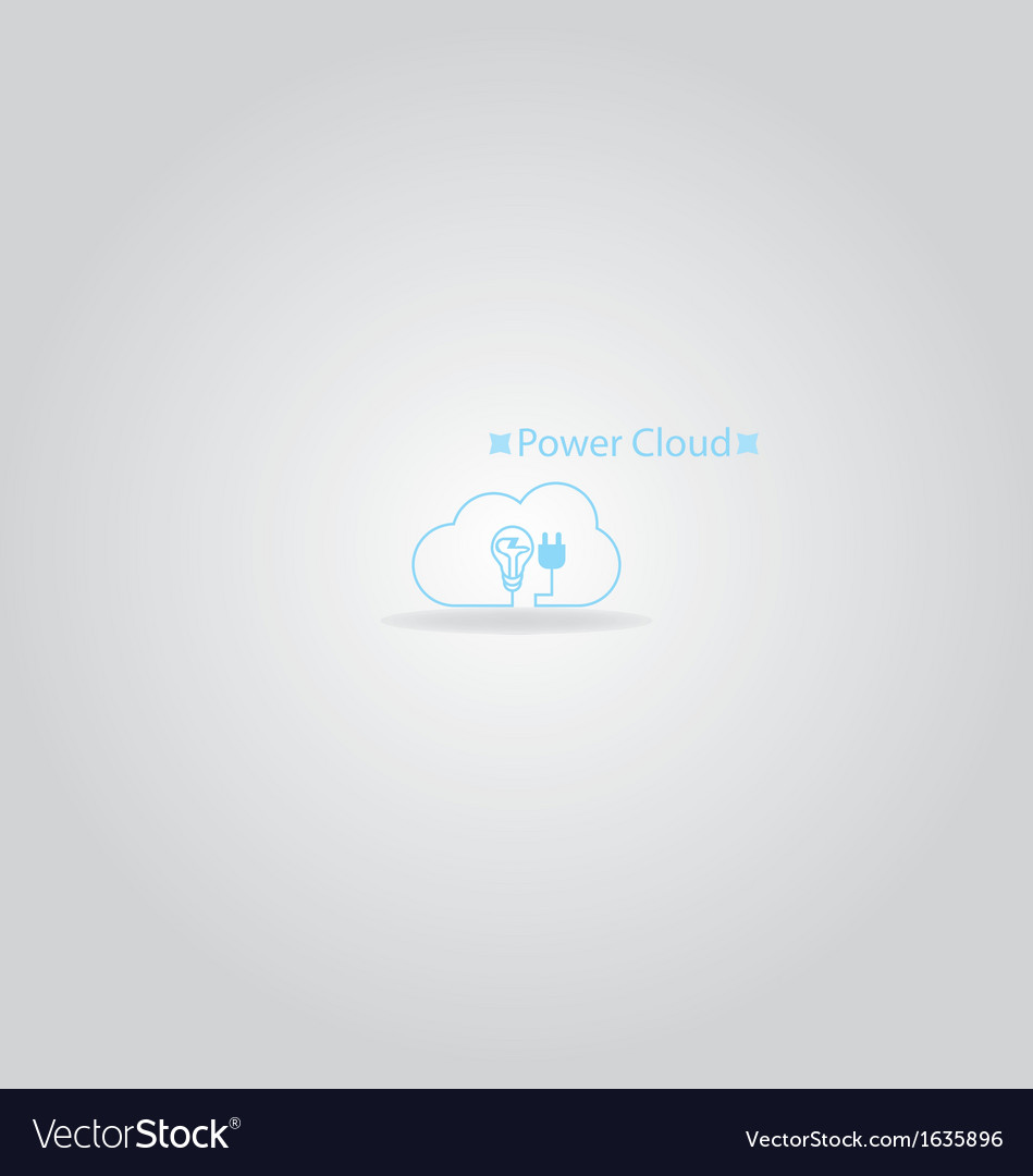 Power cloud logo vector   Price: 1 Credit (USD $1)