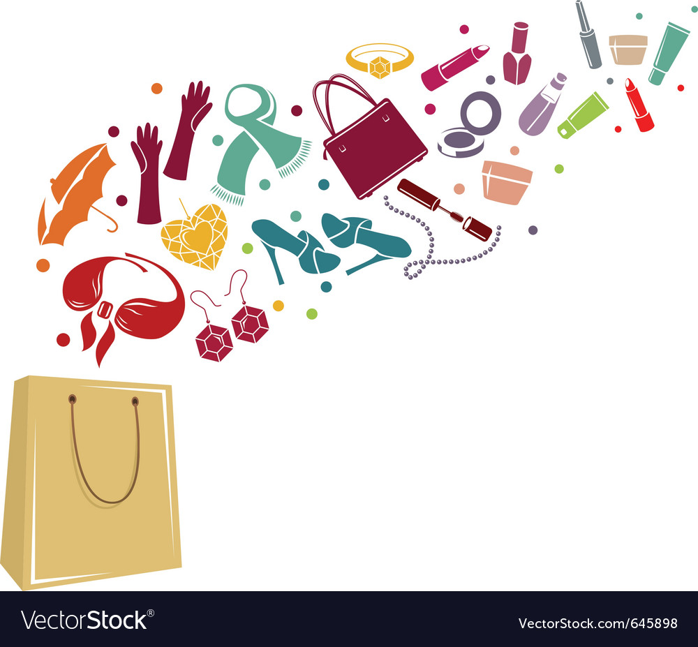 Fashion bag vector | Price: 1 Credit (USD $1)