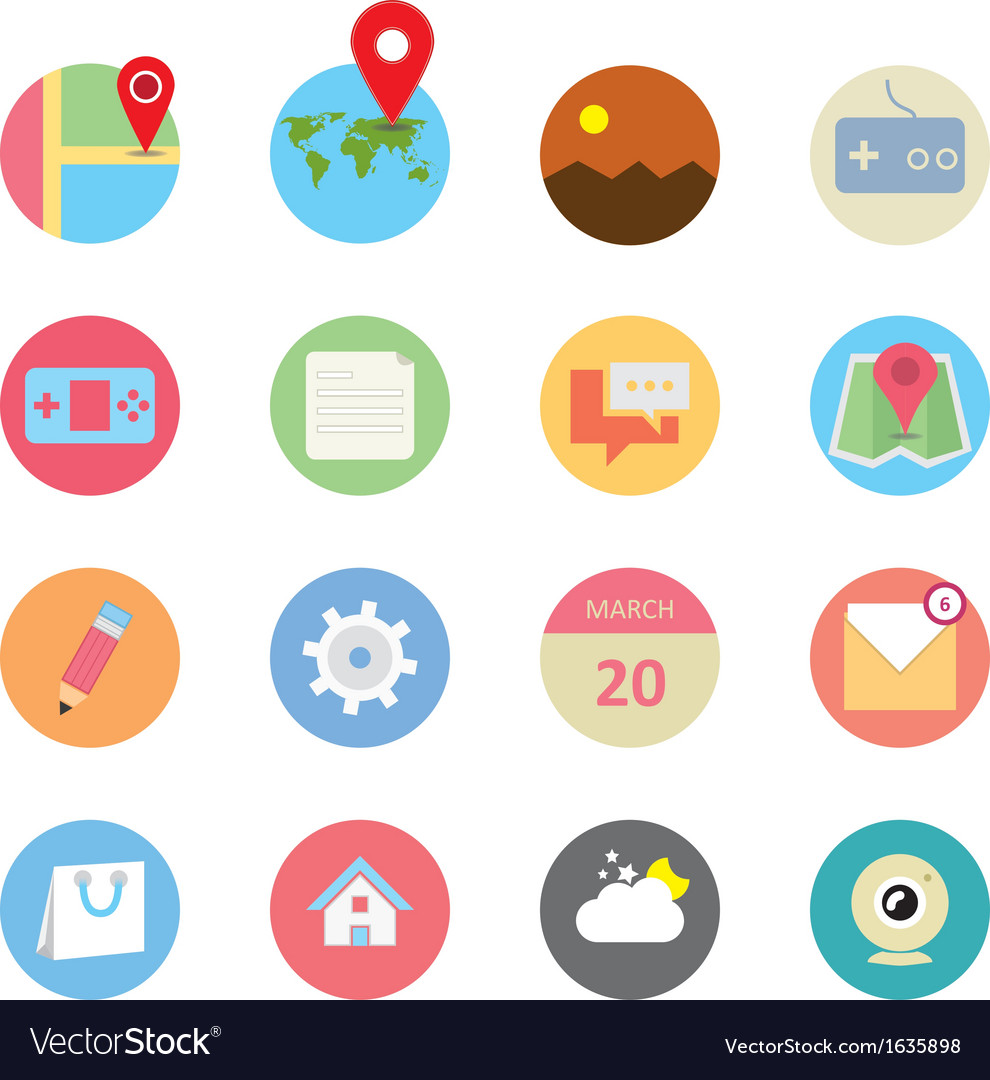 Web icons 14 vector | Price: 1 Credit (USD $1)