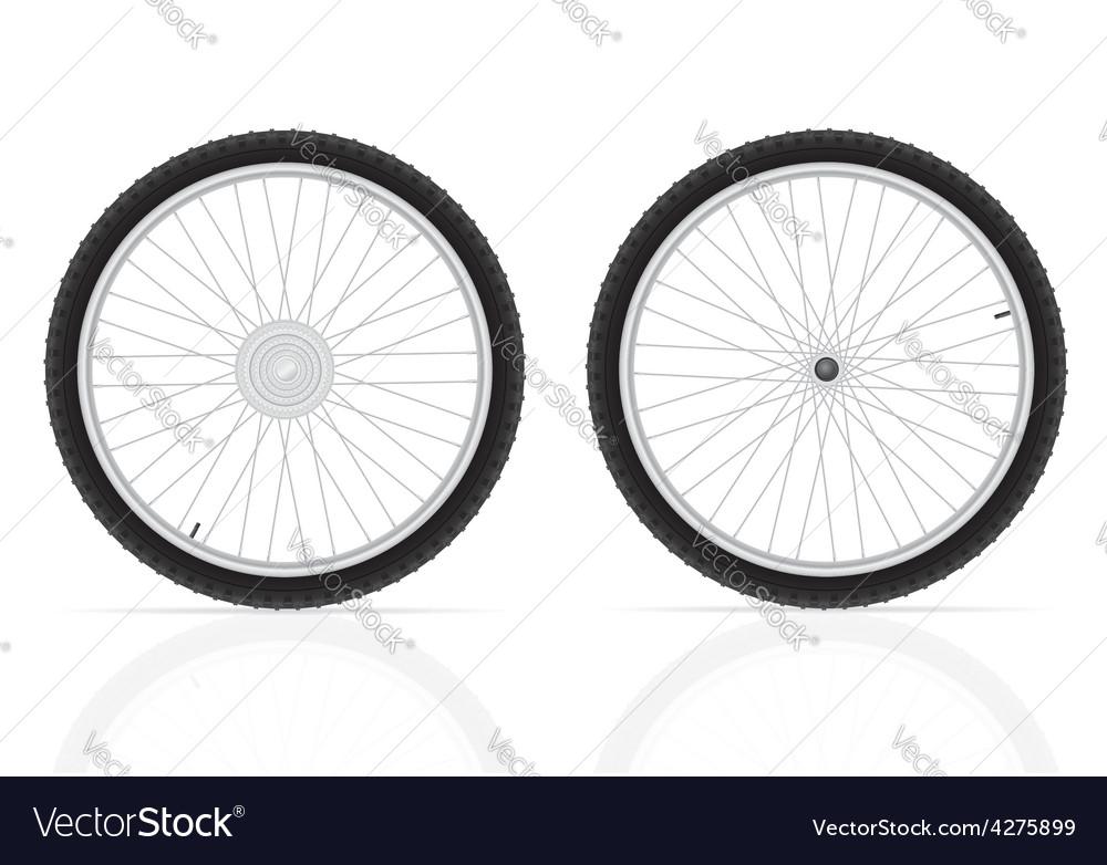 Bicycle wheel 03 vector | Price: 1 Credit (USD $1)