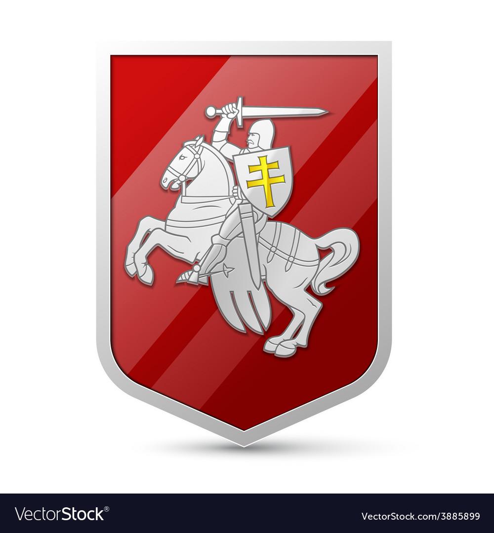 Coat of arms belarus vector | Price: 1 Credit (USD $1)
