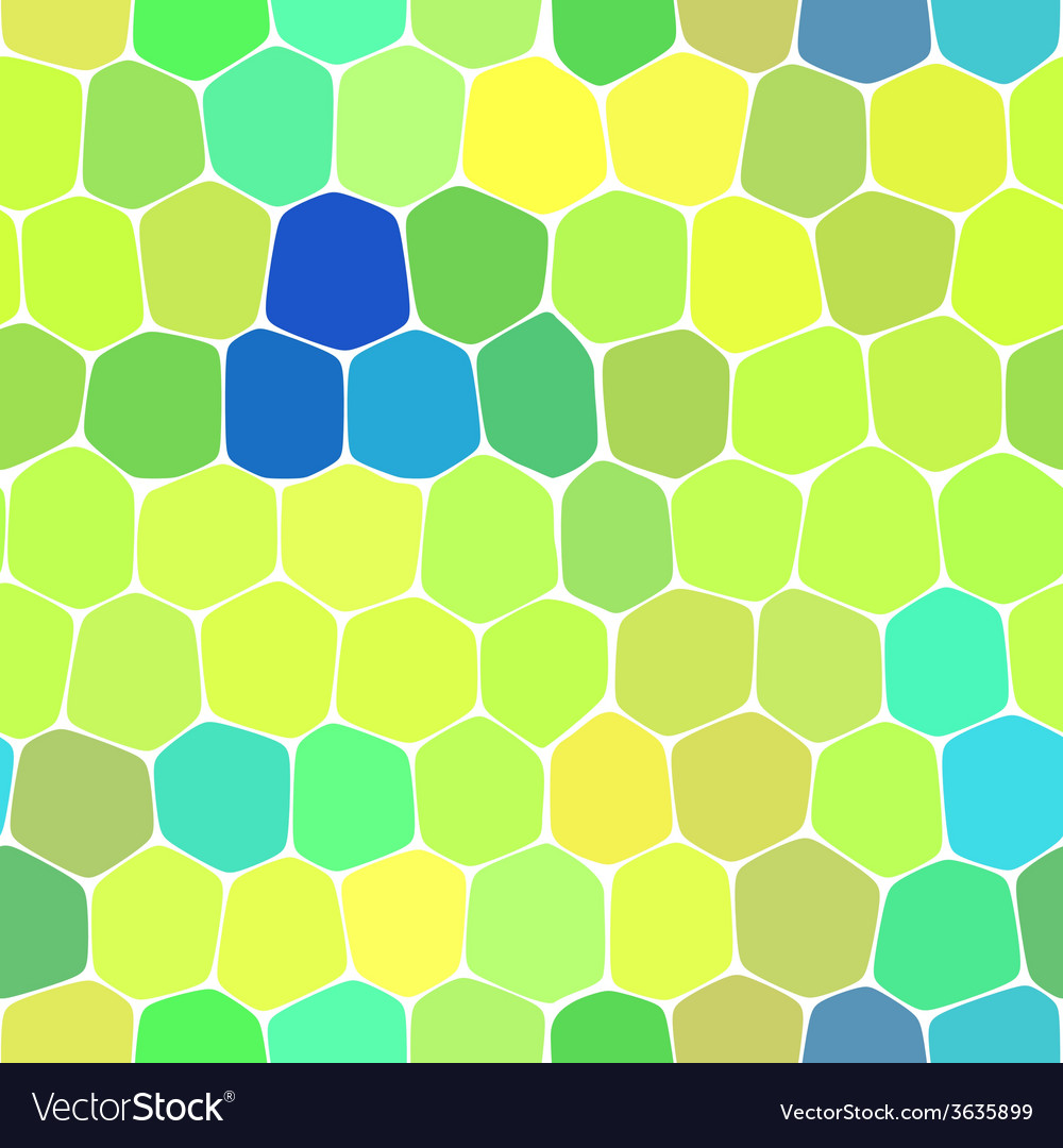 Colorful honeycomb seamless background vector | Price: 1 Credit (USD $1)
