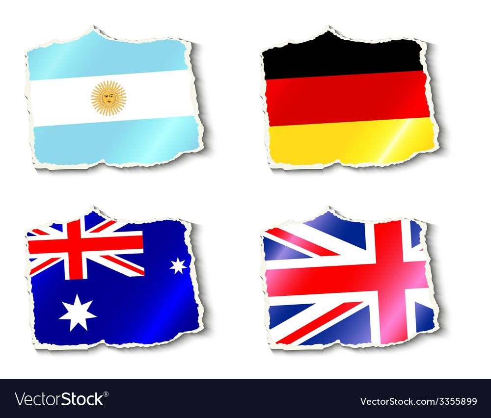 Flags of the world vector | Price: 1 Credit (USD $1)