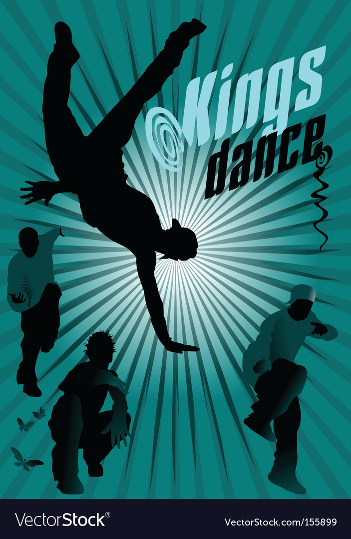 Kings dance vector | Price: 1 Credit (USD $1)