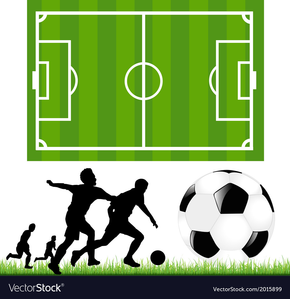 Soccer set vector | Price: 1 Credit (USD $1)