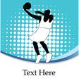Basketballer silhouette vector