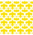 Hand painted pattern with bold brush strokes vector